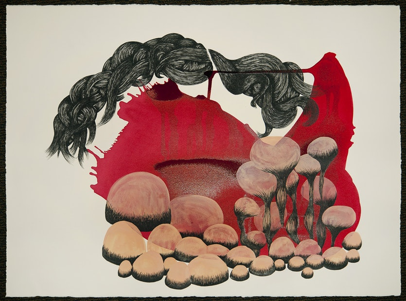 MEDITATIONS ON THE CONTINUUM OF VITALITY (GARDEN), 2014