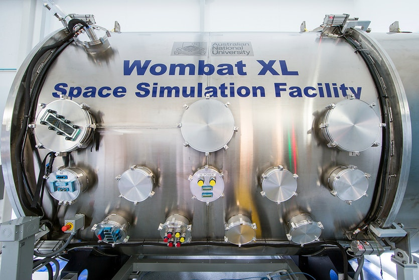 The Wombat XL Space Simulation Facility at Australian National University in Canberra.