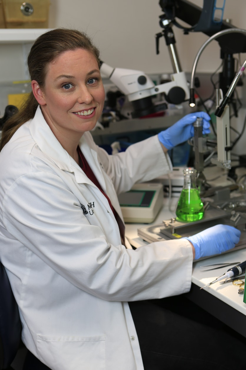 Simone Simonds, researching the link between CVD and obesity.