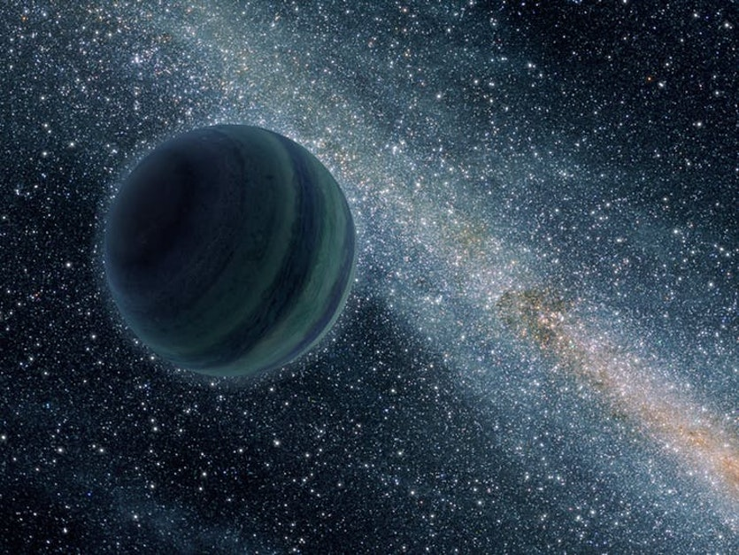 Chaotic planetary systems can eject planets entirely, leading to lonely rogue planets.