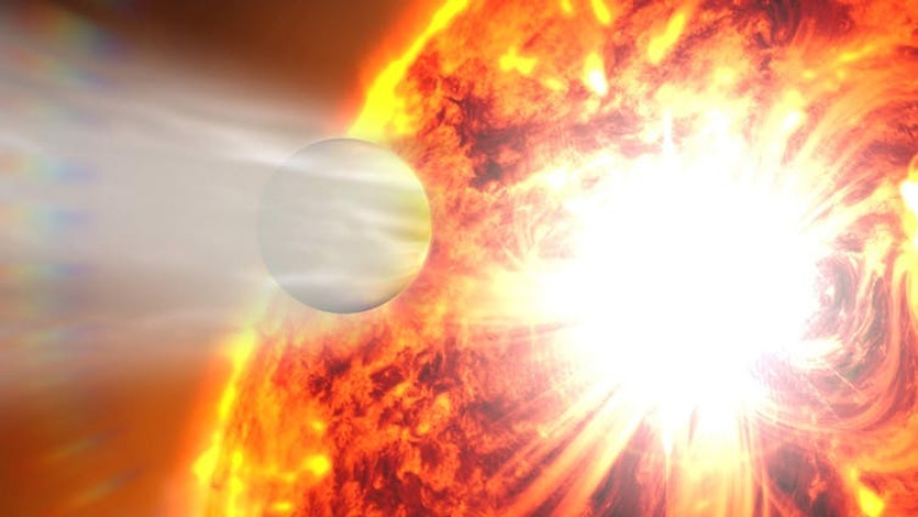 Extremely eccentric planets have been discovered before, but this is the first around such an ancient star.