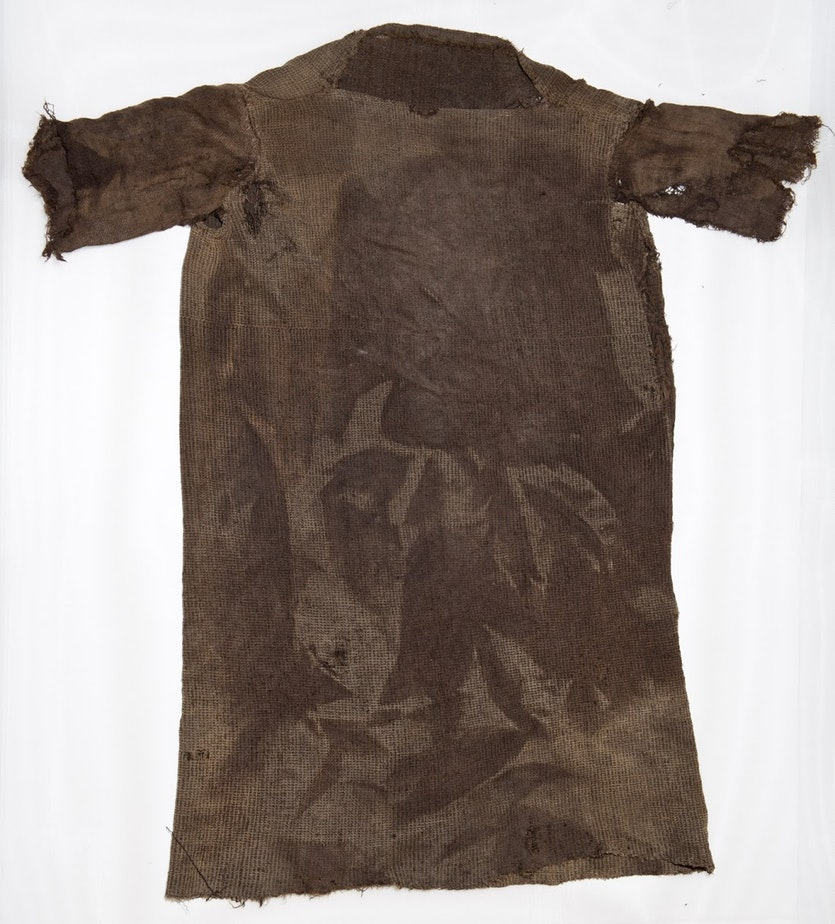 A tunic from 300 BCE.