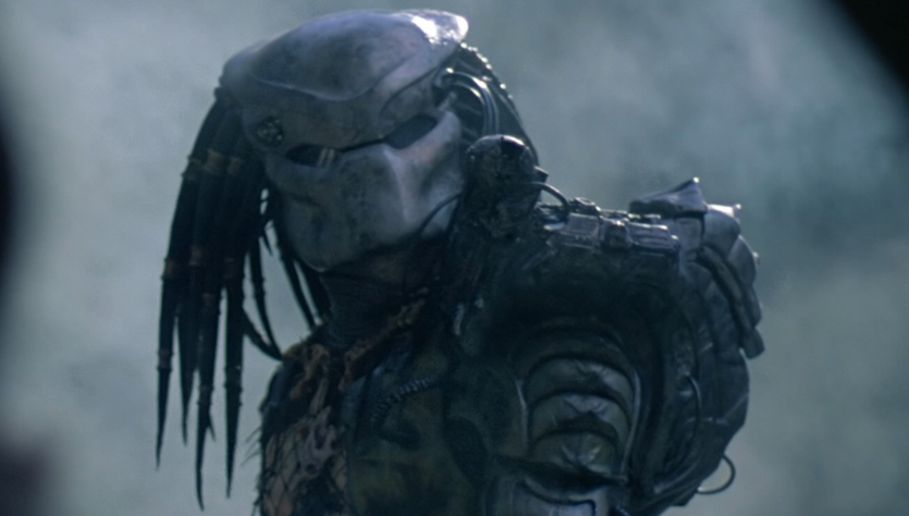 The bad guy, or bad thing, in the Predator series detects its prey by seeing its heat signature.