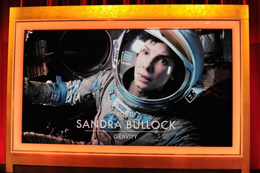 In the movie Gravity, high-speed space junk destroys a shuttle carrying Sandra Bullock, George Clooney and other cast members.