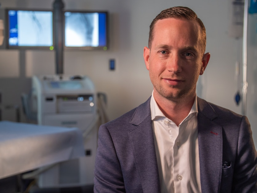 Geoff Rogers is transforming cardiac surgery.