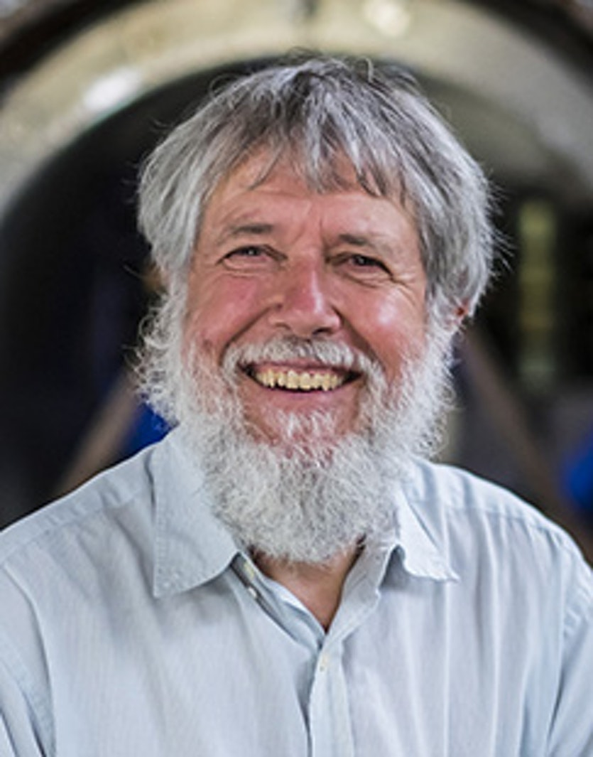David Blair, Australian physicist and professor at the University of Western Australia and director of the Australian International Gravitational Research Centre.