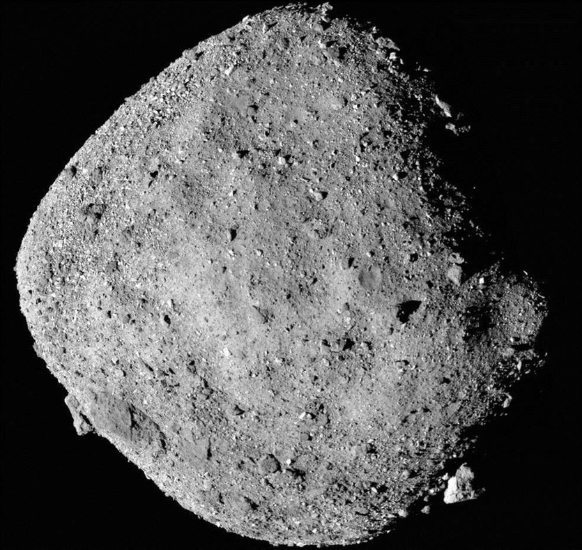 Bennu, up close and personal.