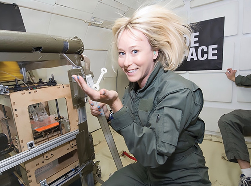 Since 2011, made in space has undertaken over 30,000 hours of 3d printing technology testing.