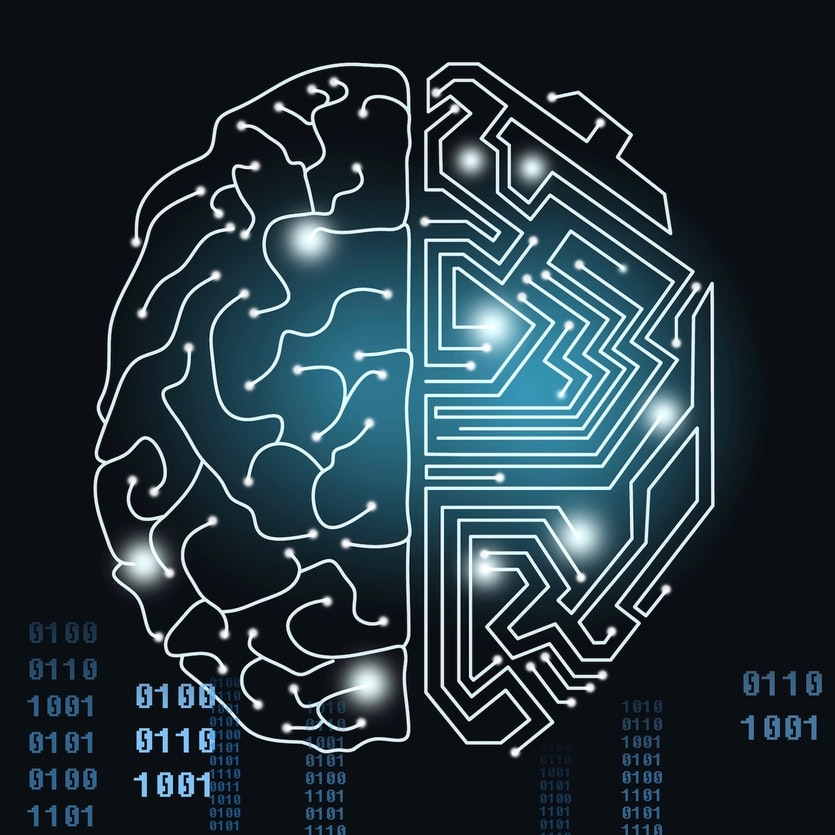 Both humans and AI are regarded as logical systems, but they are not analogues of each other.