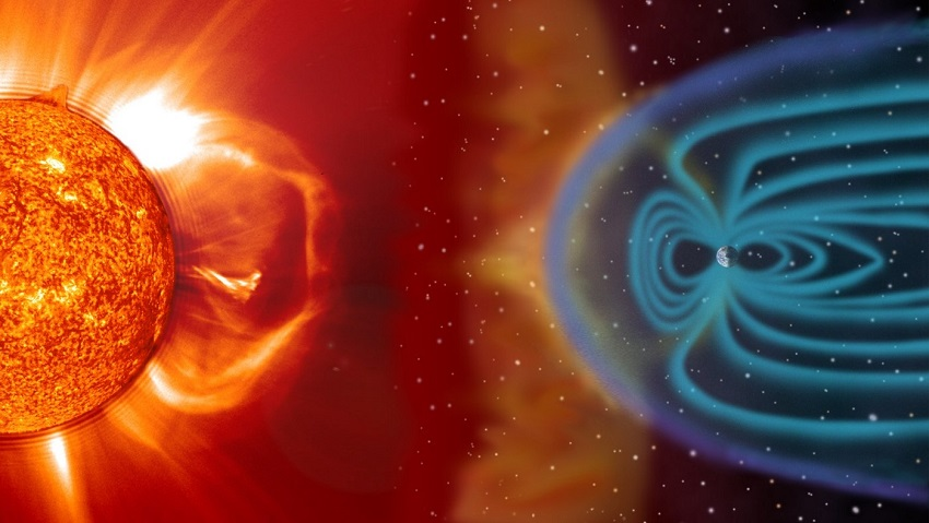 An artist's impression of what a coronal mass ejection might look like.