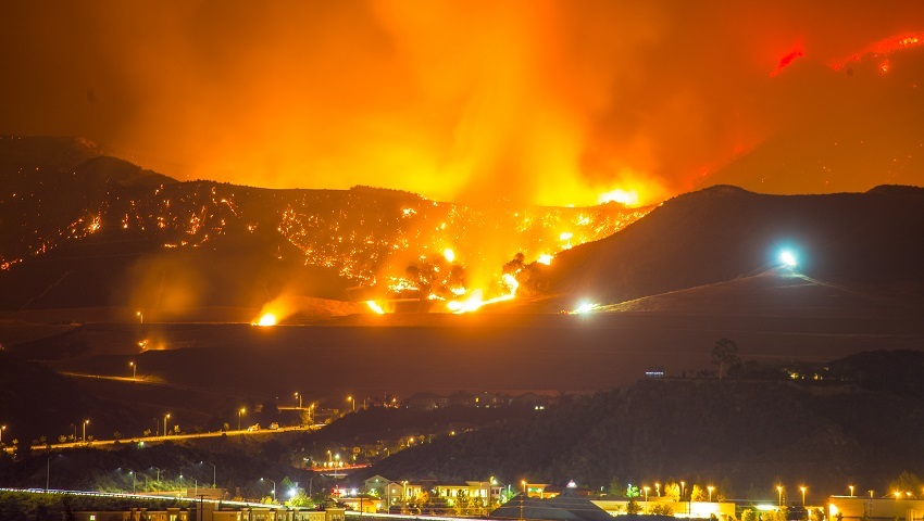 Wildfires are a destructive feature of summers in North America.