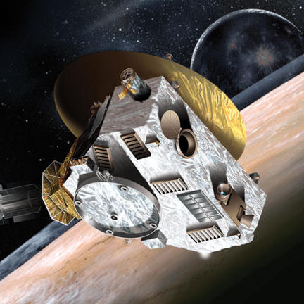 Artists impression of new horizons spacecraft