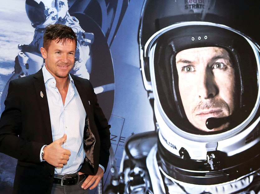 Intense mental training helped Felix Baumgartner prepare for his 2012 dive from a helium balloon at the edge of space.