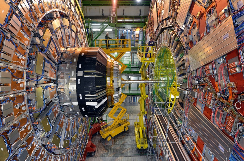 Hypothetical particles known as axions could explain dark matter. Physicists at CERN have taken a giant magnet from the Large Hadron Collider and turned it into an axion detector, the CERN Axion Solar Telescope.