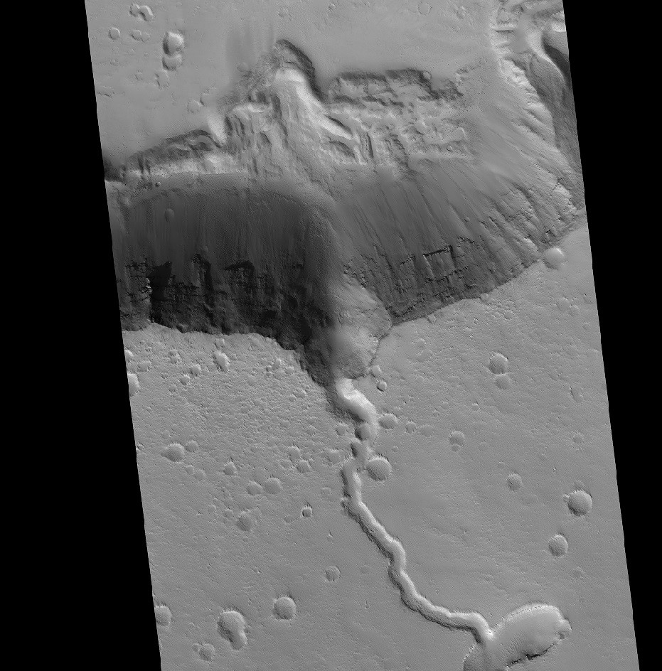 The second highest volcano on mars.