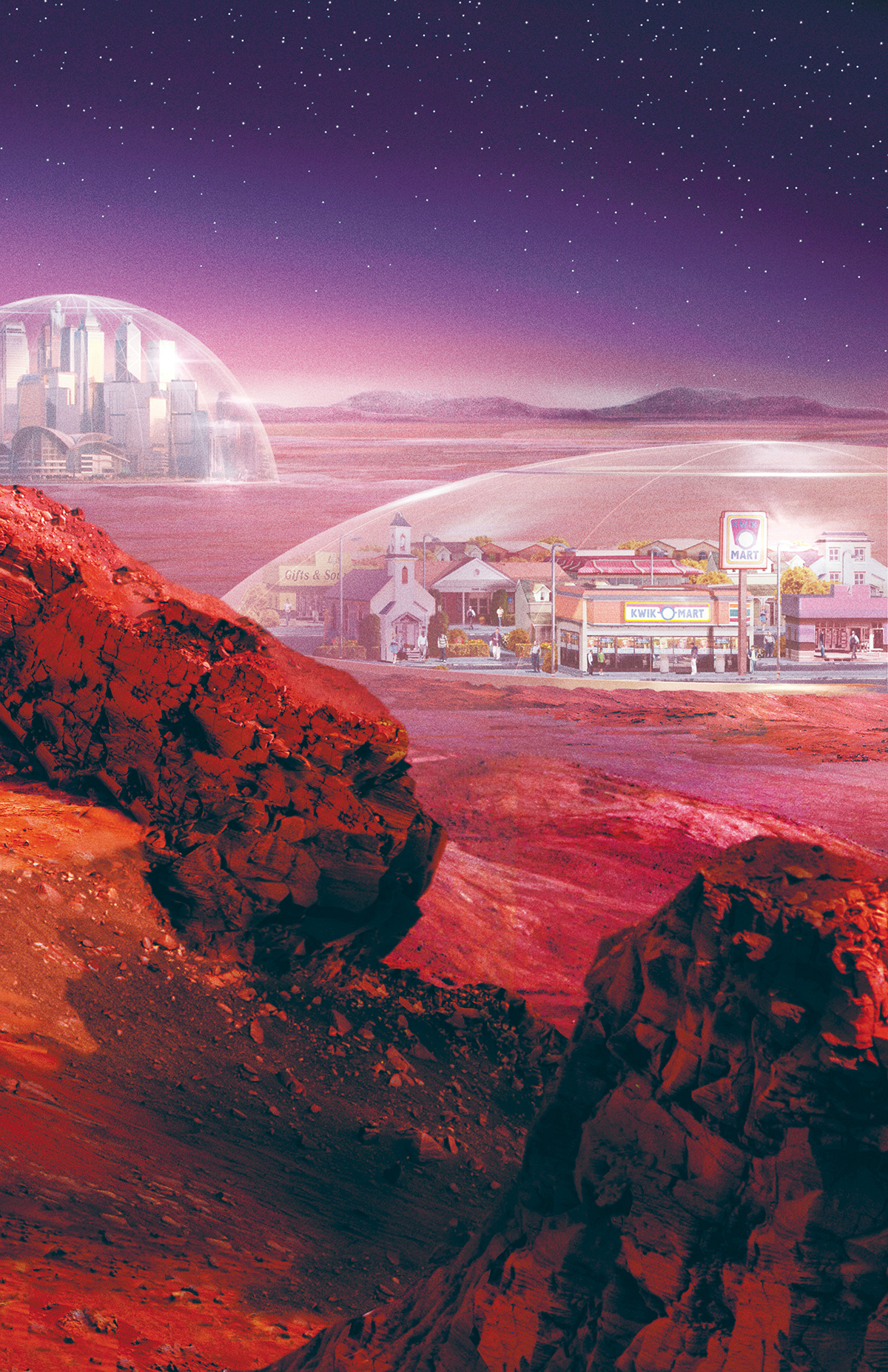 """""""The Moon and Mars are the most suitable sites for space colonies in the Solar System."""""""