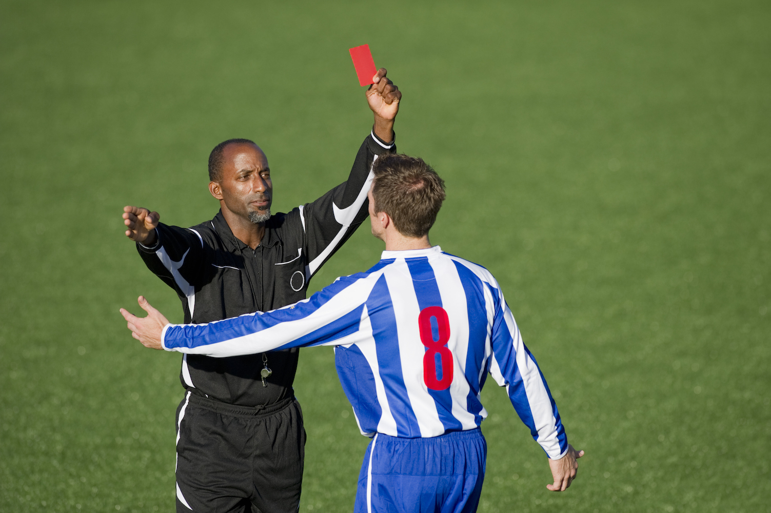 Gay Soccer Referee Quits After Abuse