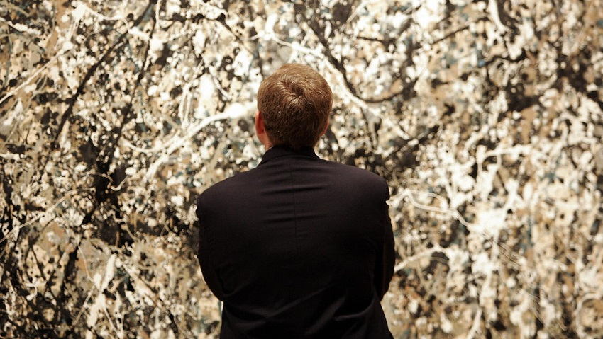 How does he do it? It turns out that artist Jackson Pollock was a master of fluid dynamics. Read the full story here.