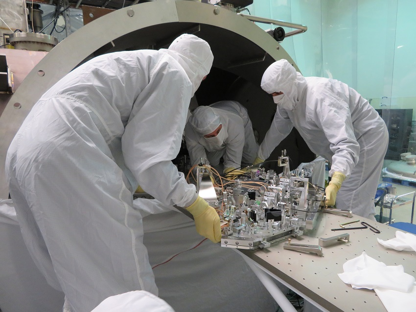 Researchers install a new quantum squeezing device into one of LIGO's gravitational wave detectors.