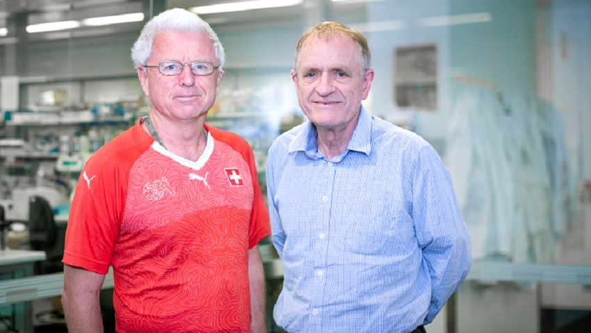 Andreas strasser and david vaux are recognised for their work identifying cell death triggers.