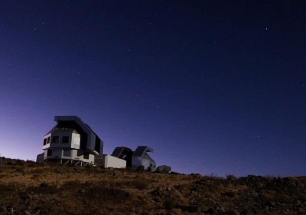 Magellan Telescopes in Chile at night Ds Tuc - DS Tuc Ab hot neptune