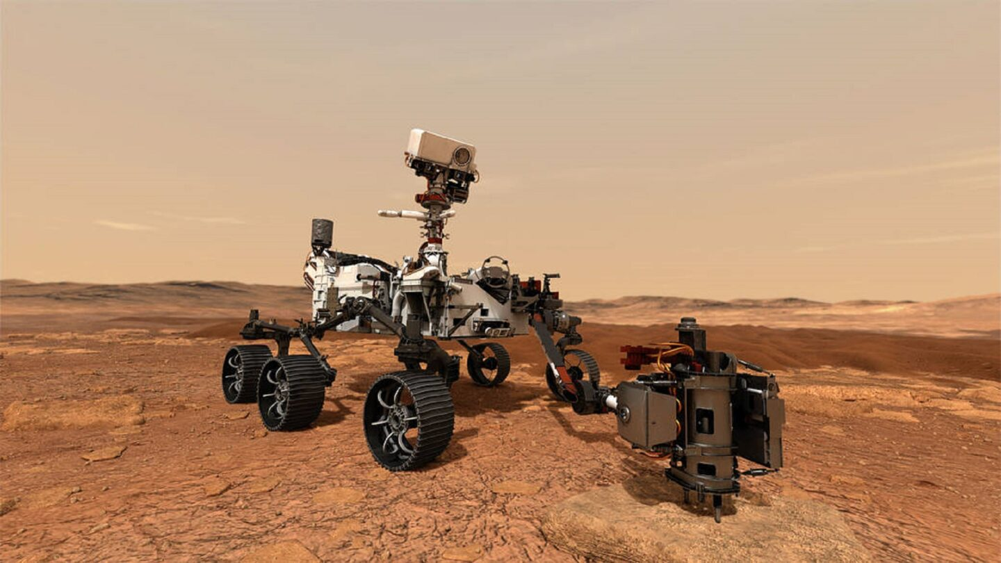 Perseverance Mars 2020 rover