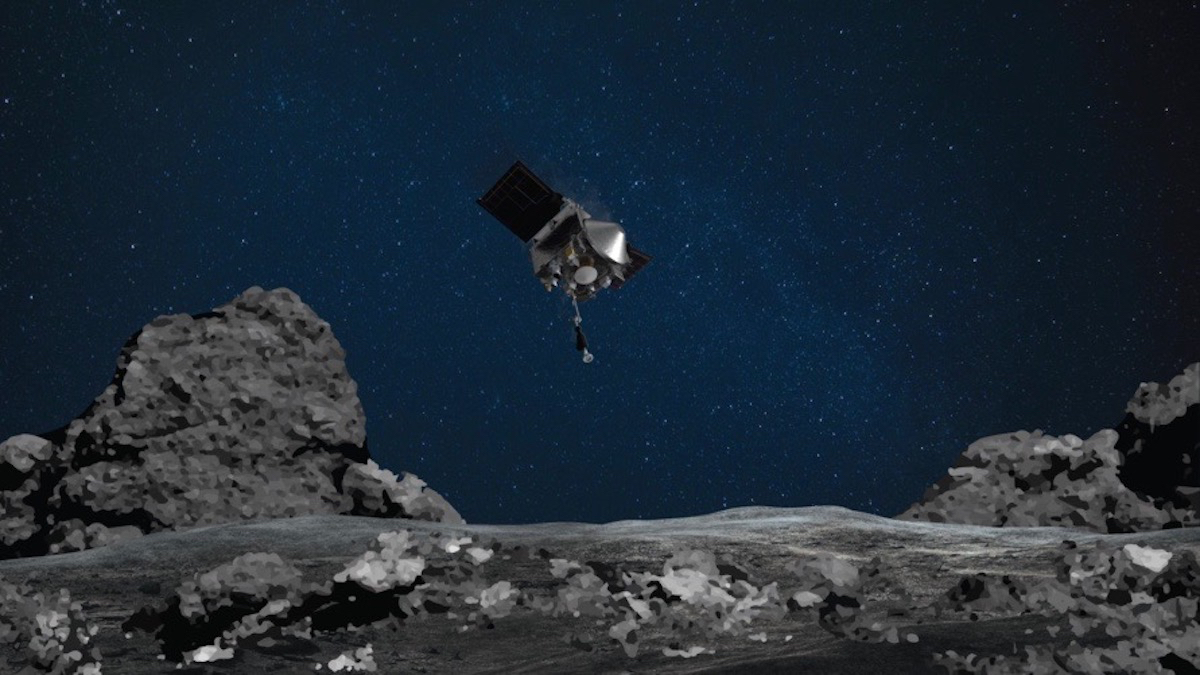 Asteroid Bennu to Promise Pristine ET Material From Space, says NASA