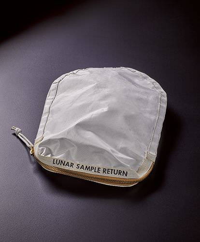 Neil Armstrong Apollo 11 bag