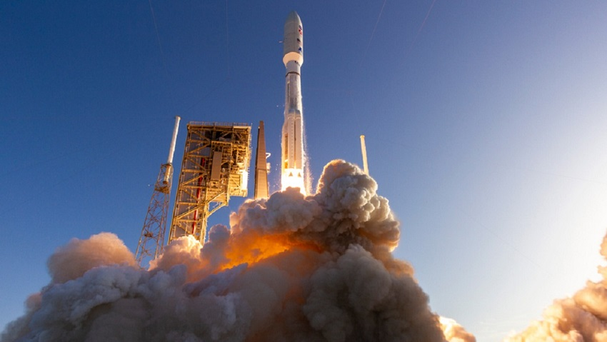 A united launch alliance (ula) atlas v rocket carrying the mars 2020 mission with the perseverance rover lifts off from space launch complex-41. Credit: united launch alliance