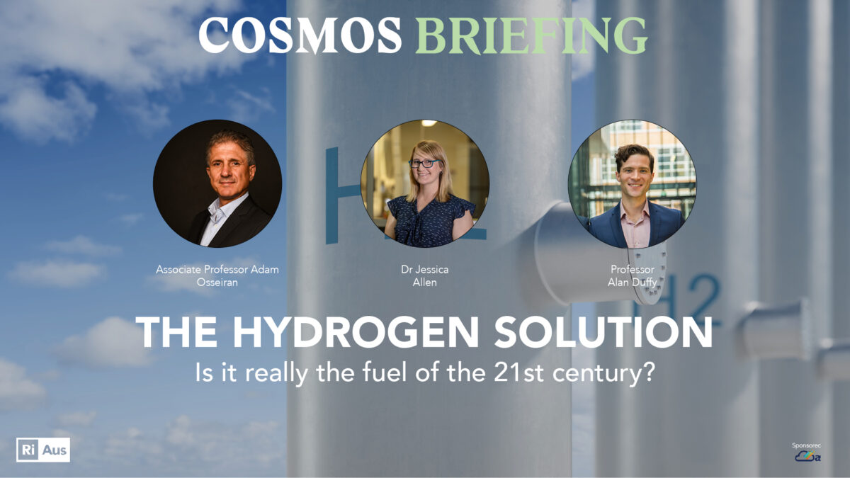 The hydrogen solution