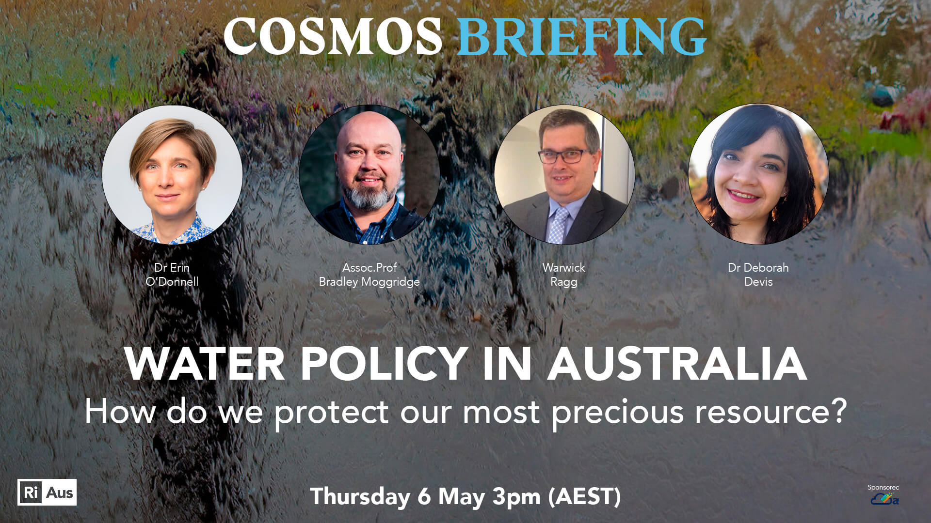 Cosmos briefing: water policy in australia