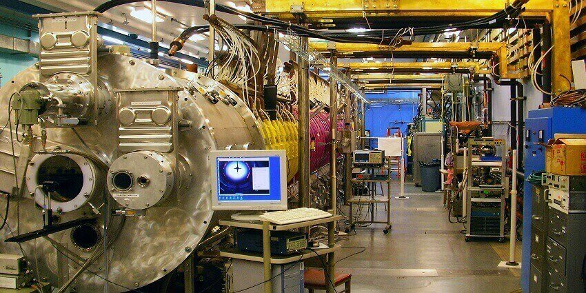 End view of the Large Plasma Device