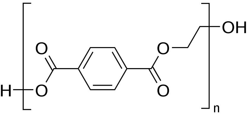 A monomer of PET.