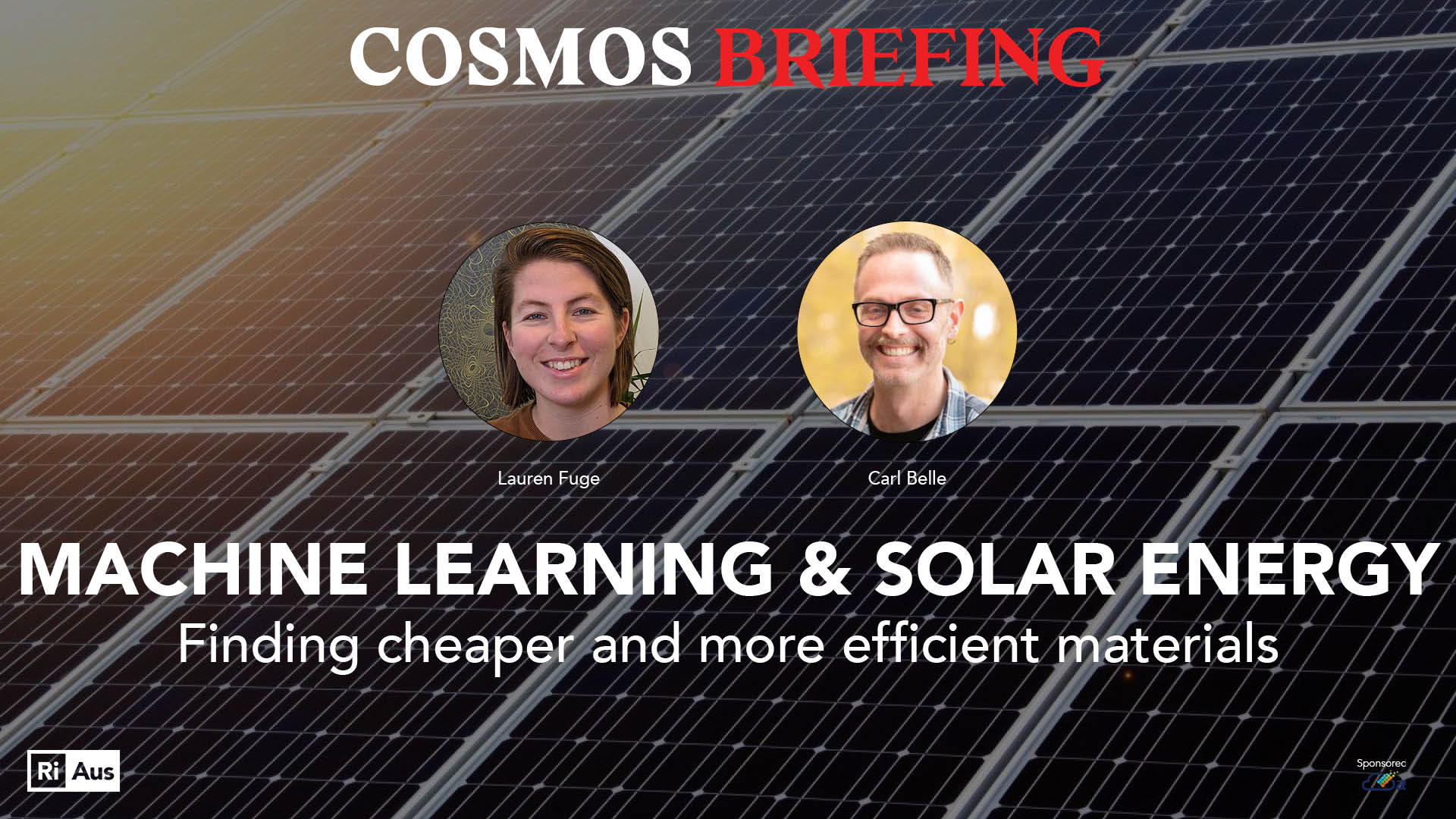 Machine learning and solar energy