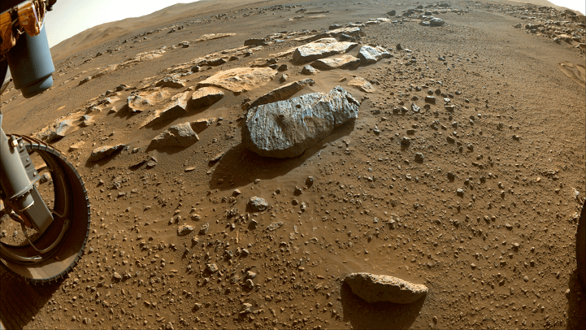 Plucky mars rover's perseverance rewarded