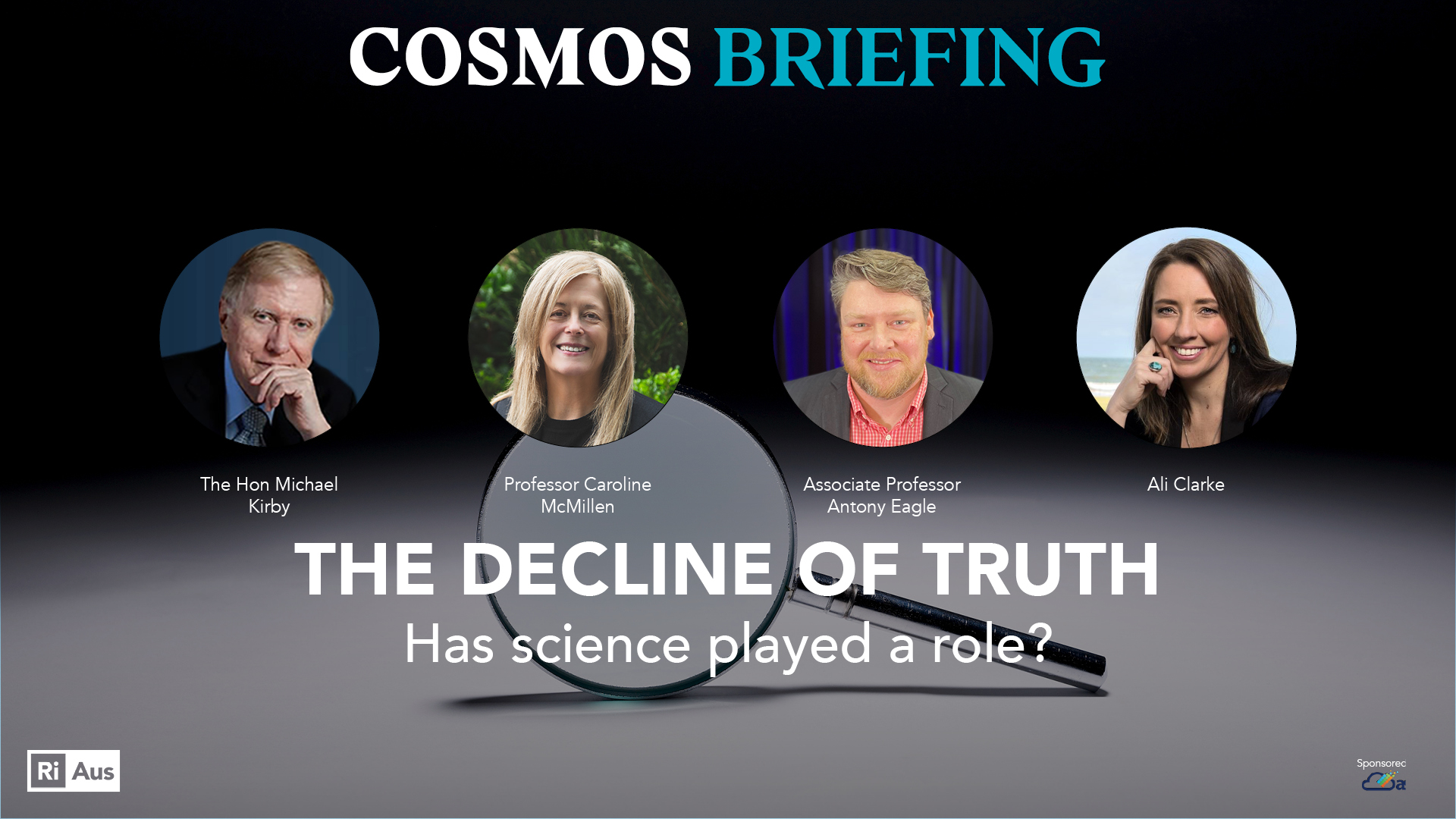 Cosmos briefing: the decline of truth