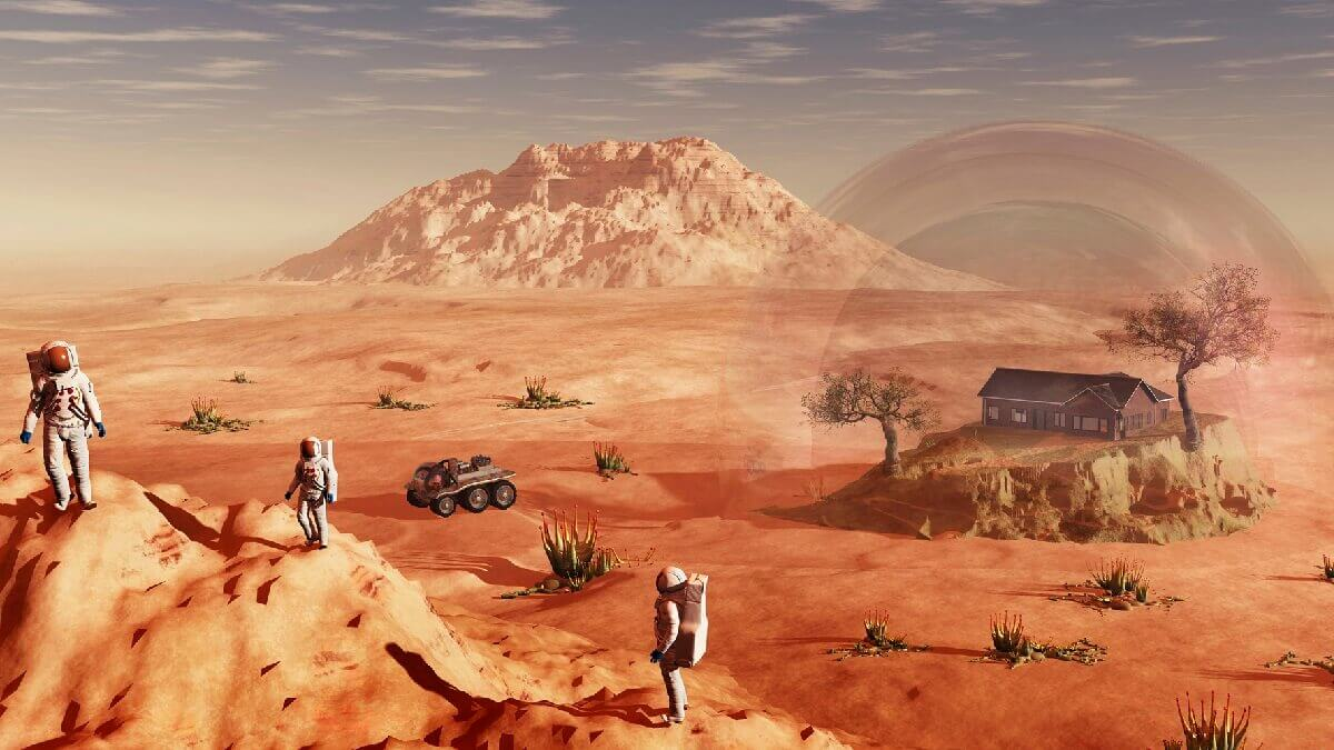 Could houses on mars be built with astronaut blood, sweat and tears?