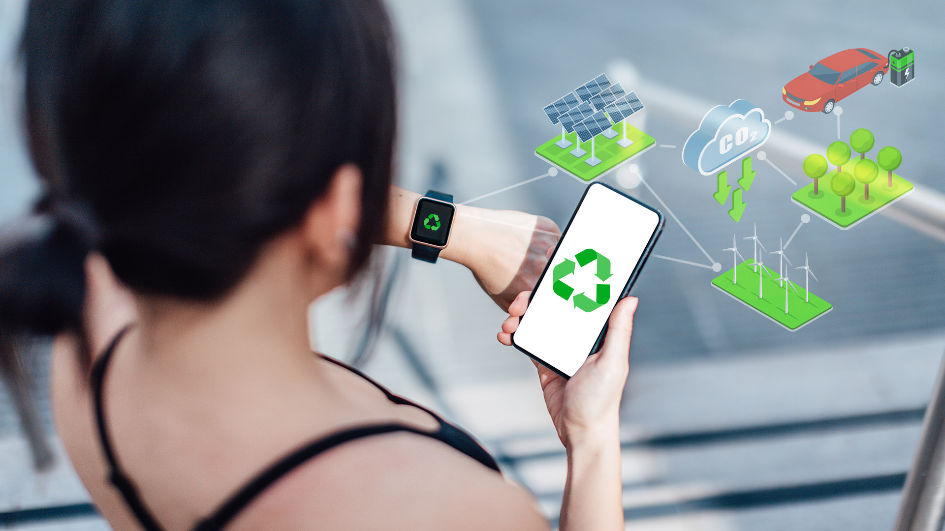 Planet smartwatch: being an island of data in a world of change