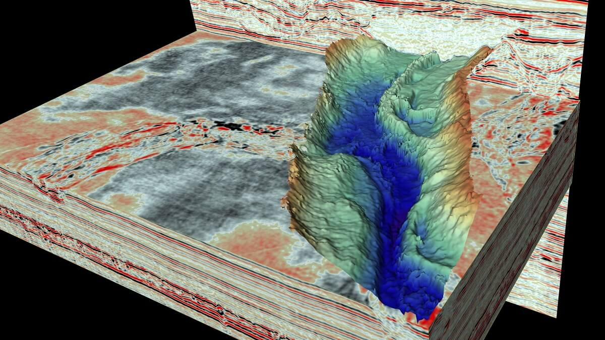 Ice age relics discovered beneath the north sea