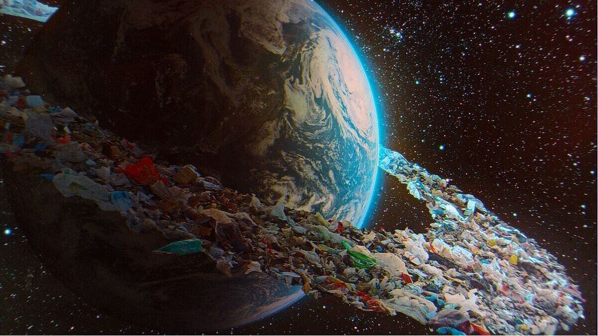 Mountains of space junk could carry us to mars