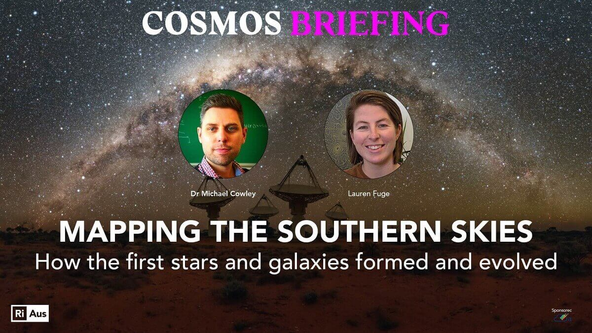 Mapping the southern skies