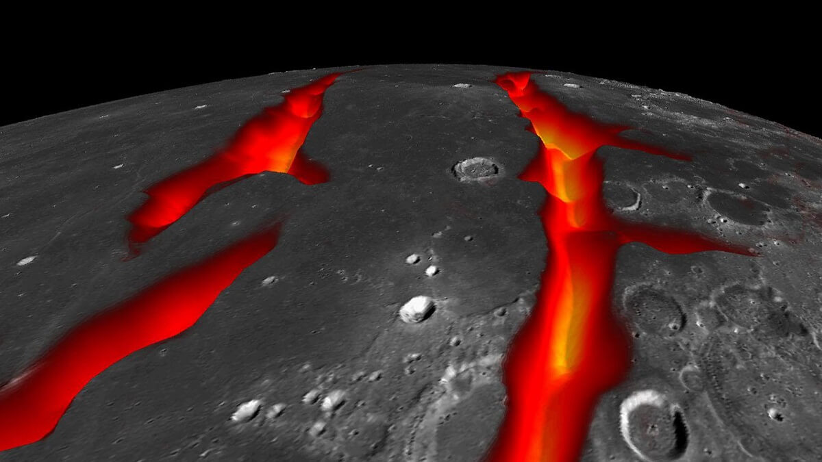 New insights into the moon's evolution