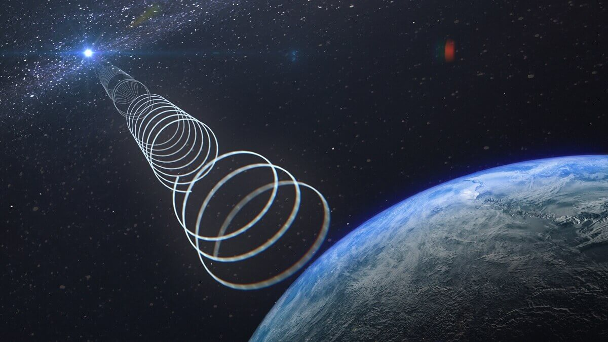 Strange radio waves from the centre of the galaxy